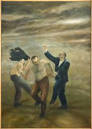Sale 8449A - Lot 552 - Graeme Drendel (1953 - ) - The Grace Brothers, 1996 121 x 85cm