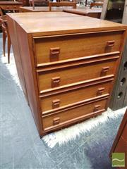 Sale 8451 - Lot 1056 - Pair of Parker Bedside Cabinets