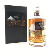 Sale 8660 - Lot 714 - 1x Suntory Whisky 21YO Hibiki - Mount Fuji Limited Edition Blended Japanese Whisky - 43% ABV, 700ml, in presentation box