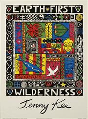 Sale 8696A - Lot 5055 - Jenny Kee (1947 - ) - Wilderness 69 x 49.5cm