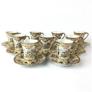 Sale 8739C - Lot 81 - Satsuma Japanese Coffee Set