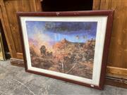 Sale 9091 - Lot 2073 - Hugh Sawrey Signed Print