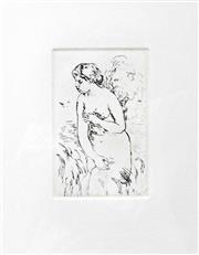 Sale 8330A - Lot 102 - Pierre-Auguste Renoir (1841 - 1919) - Baigneuse Debout 17 x 10.5cm