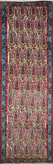 Sale 8321C - Lot 74 - Persian Sanandaj 280cm x 90cm RRP $1600