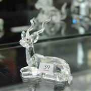Sale 8336 - Lot 59 - Swarovski Crystal 1994 Inspiration Africa 'Kudu'