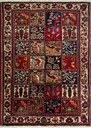 Sale 8431C - Lot 8 - Persian Bakhtiari 207cm x 147cm