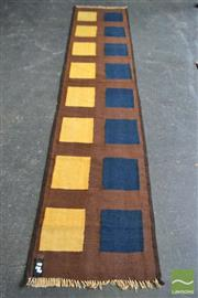 Sale 8523 - Lot 1061 - Persian Kilim Runner (330 x 70cm)