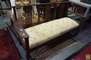 Sale 8542 - Lot 1088 - Art Nouveau 3 Seater Settee