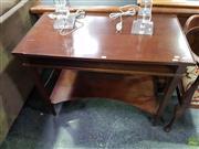 Sale 8601 - Lot 1452 - Timber Desk with Slide