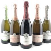 Sale 8804 - Lot 951 - 5x Taltarni Sparkling Wines, Pyrenees - 1x 2016 Shiraz, 1x 2015 Blanc de Blancs, 1x 2013 Brut, 1x 2013 Tache Rose, 1x 2012 Cuvee R...