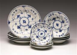 Sale 9107 - Lot 10 - Royal Copenhagen part tea/dinner service