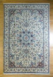 Sale 8693C - Lot 66 - Super Fine Persian Nain Silk Inlaid 397cm x 265cm