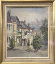 Sale 9011 - Lot 2001 - Sheila Forbes Paddingtonoil on canvas on board, 55 x 48cm (frame), signed