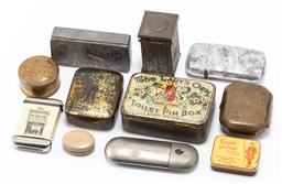 Sale 9190E - Lot 42 - A collection of trinket cases