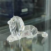 Sale 8336 - Lot 60 - Swarovski Crystal 1995 Inspiration Africa 'Lion'