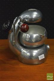 Sale 8364 - Lot 1016 - Atomic Stove Top Coffee Machine (Missing Grip & Strainer)