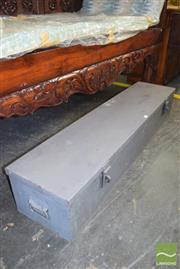 Sale 8390 - Lot 1392 - Metal Gun Strong Box