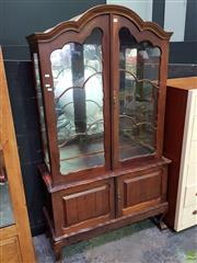 Sale 8629 - Lot 1008 - Timber Framed Glass Panelled Display Case