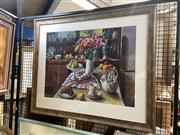Sale 8895 - Lot 2035 - Margaret Olley, framed decorative print