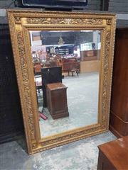 Sale 8939 - Lot 1062 - Large Gilt Framed Bevelled Edge Mirror (232 x 172cm)