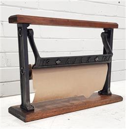 Sale 9117 - Lot 1029 - Ajax paper cutter (43 46 14cm)