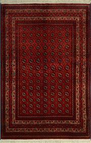 Sale 8402C - Lot 6 - Afghan Bukhara 150cm x 100cm