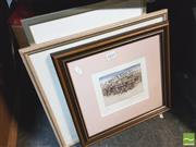 Sale 8413T - Lot 2032 - Framed Pictures The Monument and the Snow signed Don Swaun (3)