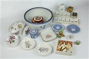 Sale 8422 - Lot 36 - Carlton Ware Lidded Dish with Other Ceramics incl Wedgwood Jasper Wares