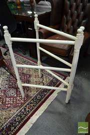 Sale 8507 - Lot 1070 - Timber Towel Rail
