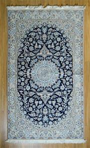 Sale 8693C - Lot 67 - Super Fine Pseria Nain Silk Inlaid 250cm x 146cm