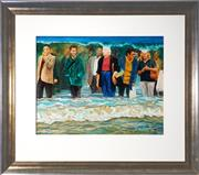 Sale 9028 - Lot 2011 - Stephen Roberts - Wave 68 x 88 cm (frame: 119 x 136 x 4 cm)