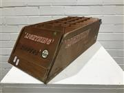 Sale 9056 - Lot 1061 - Vintage Counter Top Zipper Display (h:15 x w:54 x d:25cm)