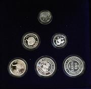Sale 8465J - Lot 313 - 1999 MASTERPIECES IN SILVER COINS OF THE 20TH CENTURY, MEMORIES; $2, $1/shilling, 50c/sixpence, 20c/three pence, 10c/ penny, & 5c/...