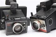 Sale 8701 - Lot 21 - Polaroid Colourpack Land Cameras (2)