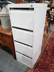 Sale 8740 - Lot 1095 - Statewide Anti-Tilt Four Drawer Filing Cabinet