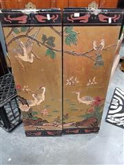 Sale 8745 - Lot 1073 - Chinese 4 Panel Screen