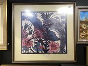 Sale 8895 - Lot 2006 - Margaret Preston - Bird, framed decorative print