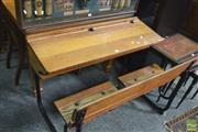 Sale 8390 - Lot 1469 - Vintage School Desk