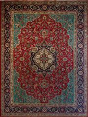 Sale 8431C - Lot 13 - Persian Tabriz 387cm x 292cm