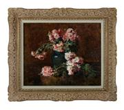 Sale 8716A - Lot 19 - Nature Morte by Marius Dalon late 19th C - early 20th C, oil on canvas 46 x 54 cm signed