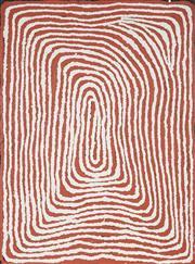 Sale 8901 - Lot 600 - Nyanyuma Napangardi (c1940 - ) - Untitled 46.5 x 61 cm (stretched and ready to hang)