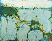 Sale 9032A - Lot 5058 - John Olsen (1928 - ) - Wetlands, 2000 75.5 x 94 cm (sheetsize: 86 x 104 cm)