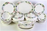 Sale 8989 - Lot 48 - Wedgwood Etruria Dinner Service for 8 Person