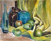 Sale 9055A - Lot 5055 - Walter Bennett (1880 - 1967) - Still Life, c1940 44 x 55 cm (frame: 54 x 65 x 3 cm)