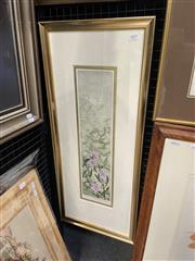 Sale 9028 - Lot 2019 - Edith Colishaw Solunium, colour lithograph ED. 1/5, frame: 81 x 35 signed lower right -