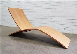 Sale 9134 - Lot 1071 - Barangaroo chair in ply, Edition 50/750 (h:75 x w:52 x d:150cm)