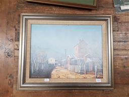 Sale 9127 - Lot 2083 - James Thompson - Morning Mist, Oil - SLR