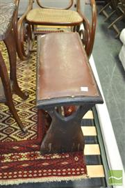 Sale 8337 - Lot 1065 - Timber Piano Stool