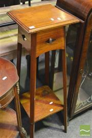 Sale 8347 - Lot 1090 - Timber Plant Stand