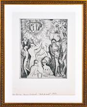 Sale 8363 - Lot 577 - Kees Van Dongen (1877 - 1968) - Boit de la Nuit, 1927 22 x 17.5cm